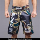Scramble Scramble No Mind Camo Shorts